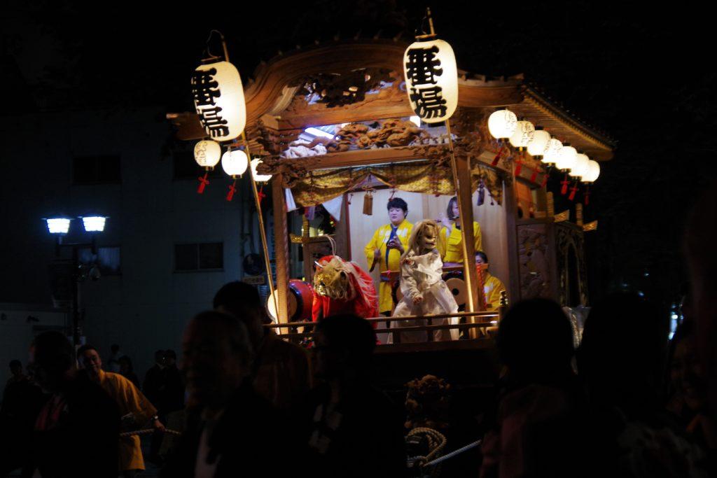 大國魂神社の栗祭りの神輿