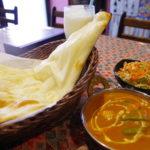 府中市のインド料理店「カレーキング」のランチセットです。