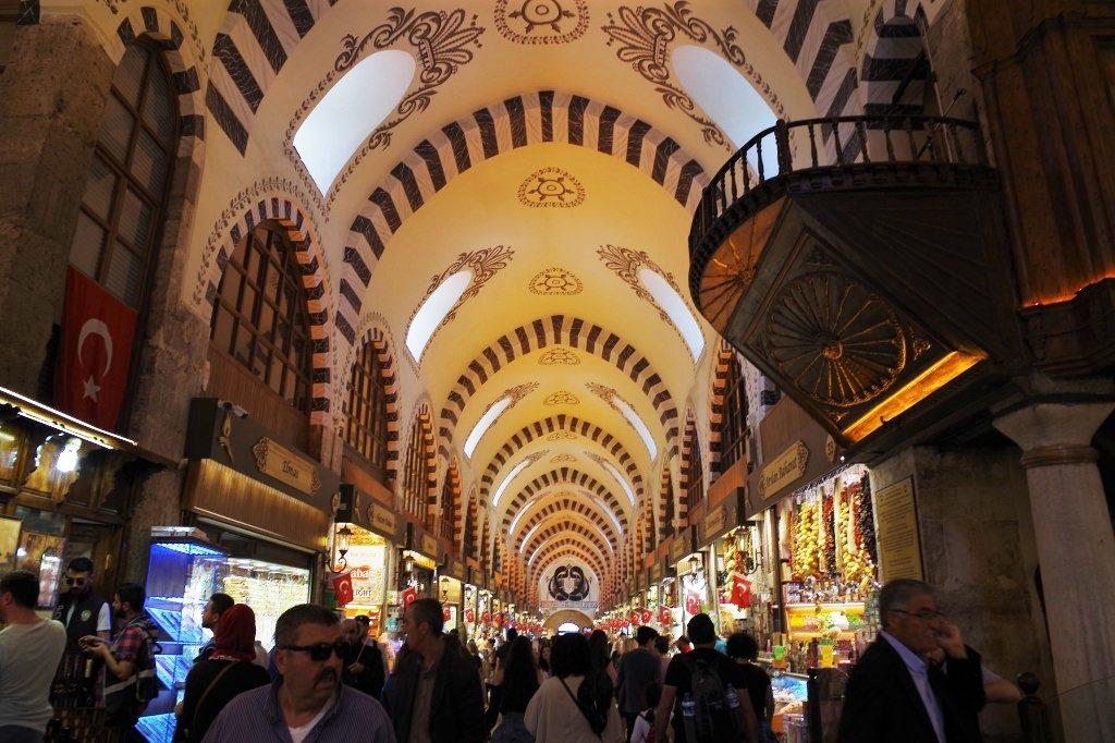 イスタンブールのエジプシャン・バザール
